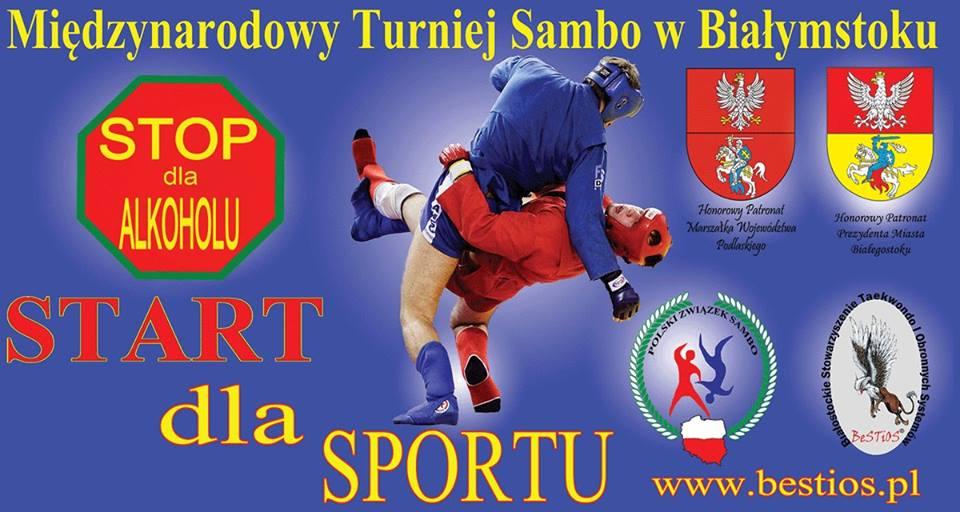 Zawody Turniej Sambo 12.12.2015 Białystok