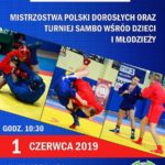Mistrzostwa Polski w sambo sportowym kobiet i mężczyzn oraz w sambo kombat 01.06.2019