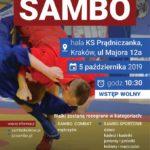 Międzynarodowy otwarty turniej sambo sportowego i kombat Kraków 05.10.2019